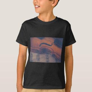 Violin Music Instrument Classic Musical Instrument T-Shirt