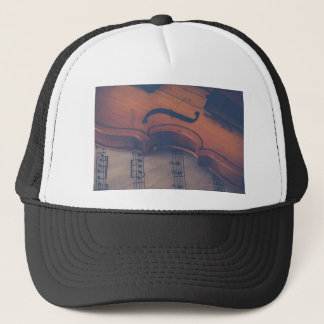 Violin Music Instrument Classic Musical Instrument Trucker Hat