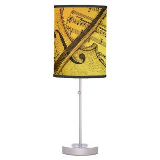 Violin Music Lampshade Table Lamp