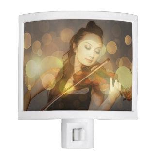 Violin Nite Light