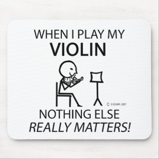 Violin, Nothing Else Matters Mouse Pad