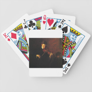 Violin Player Bicycle Playing Cards
