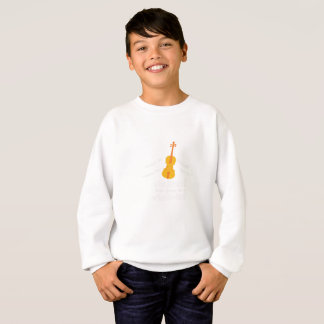 Violin Player Gif You Can Be A Violinist Sweatshirt