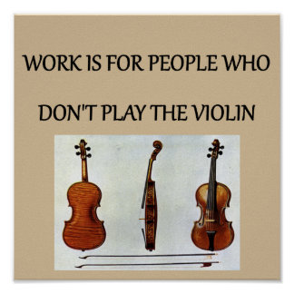 violin player gifts t-shirts poster