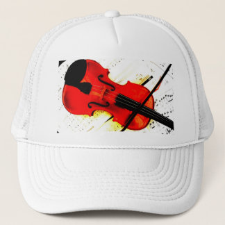 Violin Player or Band Cap