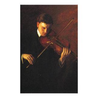 Violin Player Stationery