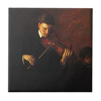 Violin Player Tile