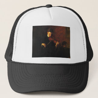Violin Player Trucker Hat