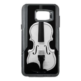 Violin Portrait - Black and White Photograph