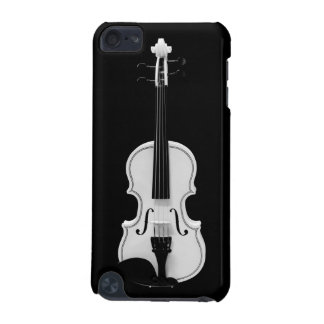 Violin Portrait - Black and White Photograph iPod Touch 5G Cover