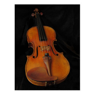 Violin Postcard