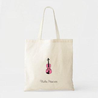 Violin Princess Tote Bag