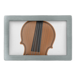 Violin Rectangular Belt Buckles