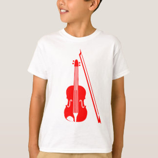 Violin - Red T-Shirt