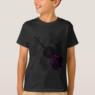 Violin,Rocking love_ T-Shirt