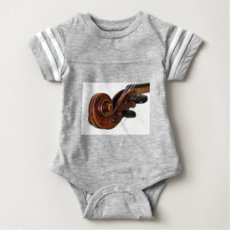 Violin Scroll Baby Bodysuit