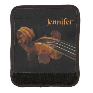 Violin Scroll Luggage Handle Wrap