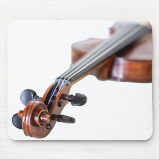 Violin scroll mouse pad