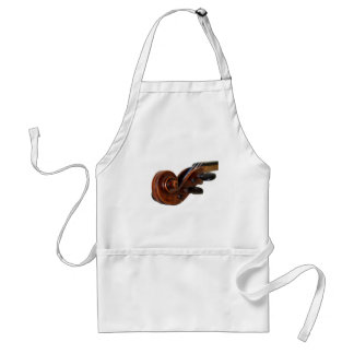 Violin Scroll Standard Apron