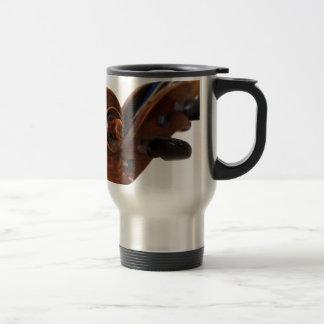Violin Scroll Travel Mug