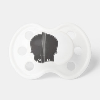 Violin Silhouette 2 Pacifiers