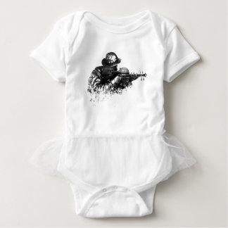 violin sniper baby bodysuit