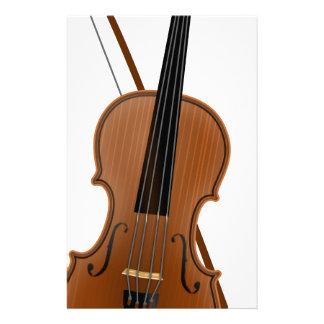 Violin Stationery