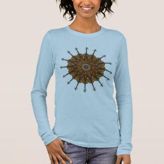 Violin Sunflower Long Sleeve T-Shirt