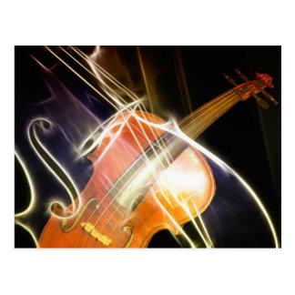 Violin Symphony Postcard