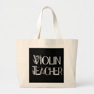 Violin Teacher Tote Bag