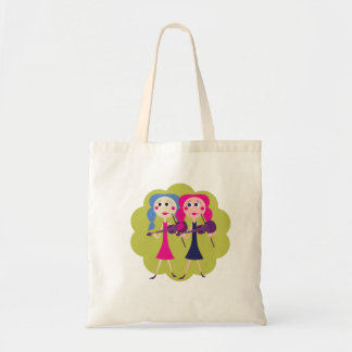 Violin Totebay-Fiddle Sisters Tote Bag