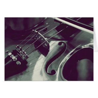 Violin Viola Cello l Photography Card