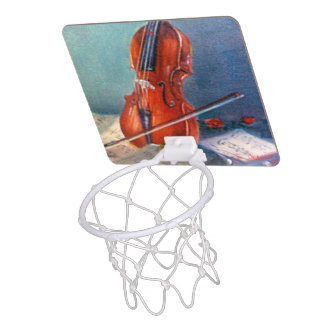 Violin/Violin Mini Basketball Hoop