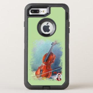 Violin/Violin OtterBox Defender iPhone 8 Plus/7 Plus Case