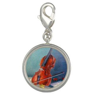 Violin/Violin Photo Charms