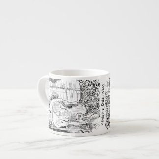 Violini Espresso Mug by Debby Wang