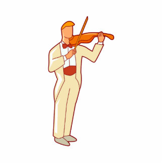 Violinist Male Figure Abstract png Photo Cut Outs