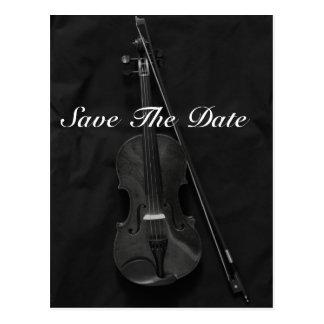 Violinistic Postcard