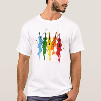 Violins background T-Shirt