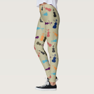 Violins Leggings