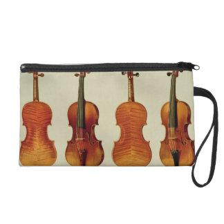 Violins (LtoR): the 'Alard' by Antonio Stradivariu Wristlet Clutches