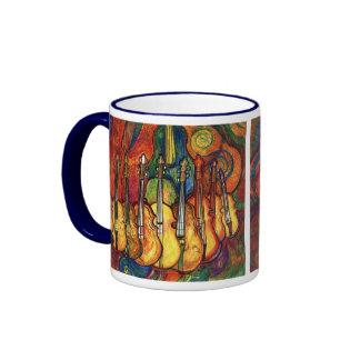 Violins Ringer Coffee Mug