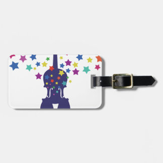 Violn Star Tote Bag, Keychains or Button Luggage Tag