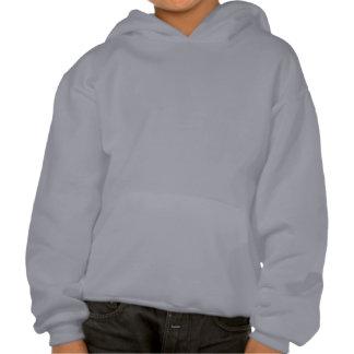 Violon avec des remous sweat-shirts avec capuche