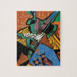 Violon et damier par Juan Gris Puzzle