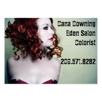vionett, Dana DowningEden SalonColorist209.571.... Pack Of Chubby Business Cards