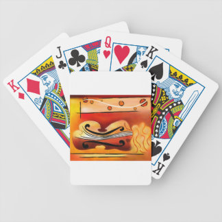 Vioselinna - violin backed beauty bicycle playing cards