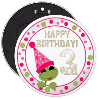 VIP 3rd Birthday Button