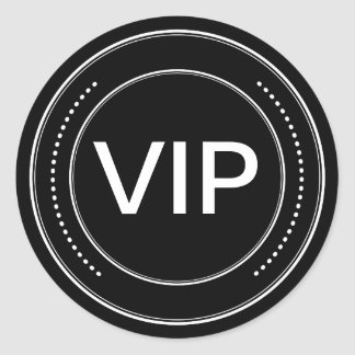 VIP Badge Stickers