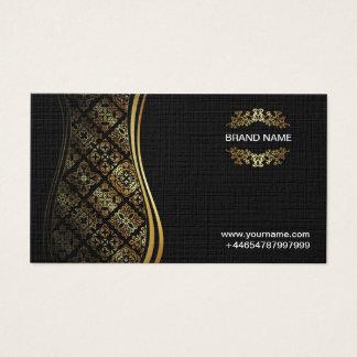 VIP Business card Black Gold